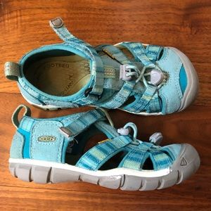 Girls Keen Seacp II CNX Water Shoes Size 12 M